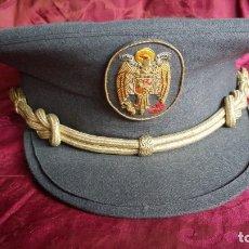 Militaria: GORRA PLATO POLICÍA NACIONAL.. Lote 172348174