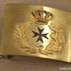 Militaria: HEBILLA SANIDAD MILITAR EPOCA ALFONSO XIII. ORIGINAL. Lote 172626780