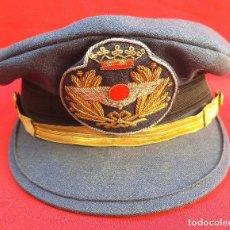 Militaria: GORRA EJÉRCITO AIRE - OFICIAL AVIACIÓN – ÉPOCA FRANCO - REGLAMENTO 1946. Lote 172649458
