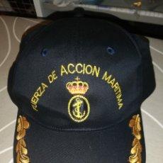 Militaria: GORRA DE COMANDANTE FUERZA DE ACCIÓN MARÍTIMA.. Lote 172756077