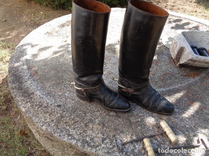 Militaria: botas oficial republicano guerra civil - Foto 3 - 172877610