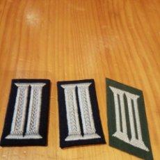 Militaria: GALONES DE CUELLO DEL UNIFORME NAZI ALEMAN. Lote 173205193