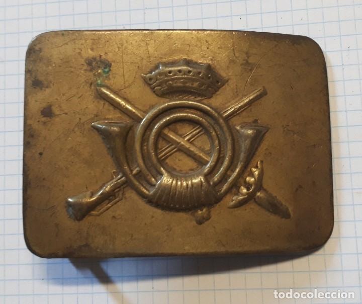 HEBILLA DE INFANTERÍA, 1ª ÉPOCA FRANCO (Militar - Cinturones y Hebillas )
