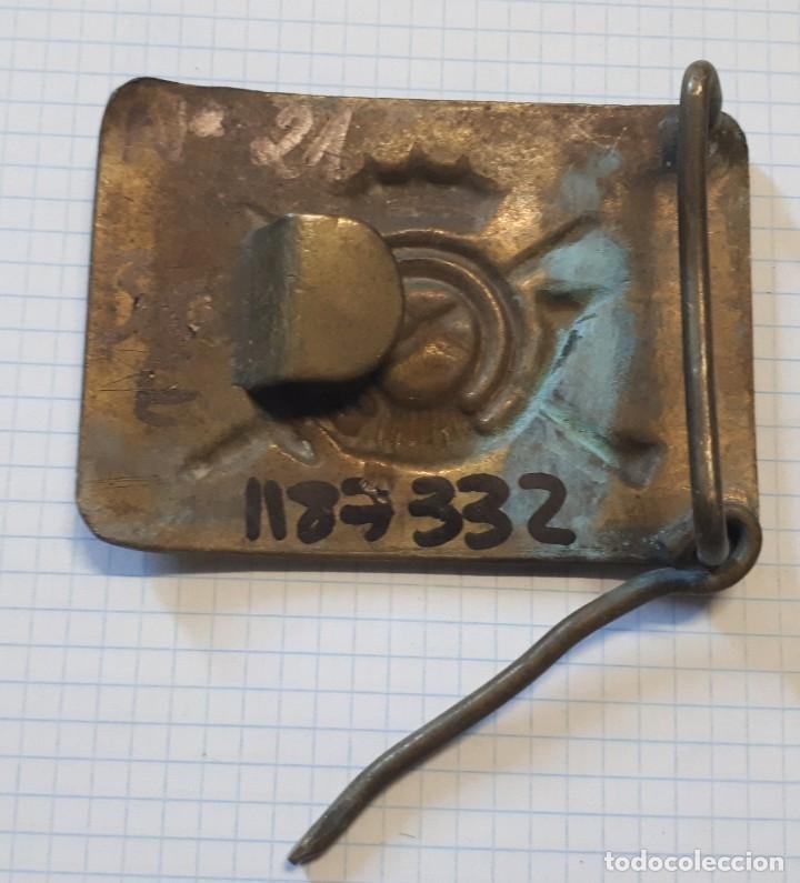 Militaria: Hebilla de Infantería, 1ª época Franco - Foto 2 - 22094787