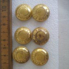 Militaria: 8 BOTONES DE LA LEGIÓN EXTRANJERA,FRANCIA. 2,3 CM T.W.& W LEGION ETRANGERE UNIFORM BUTTONS BOUTONS. Lote 173589809