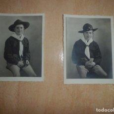 Militaria: FOTOGRAFIAS BOY SCOUTS AÑOS 40. Lote 173939522