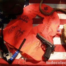 Militaria: CHALECO SALVAVIDAS DEL USS. ENTERPRISE DE CUBIERTA. Lote 174073489