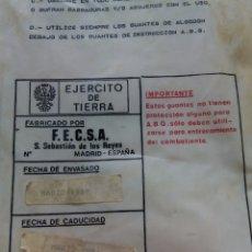 Militaria: GUANTES EJÉRCITO ESPAÑOL. Lote 174159323