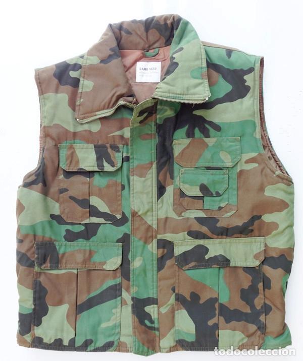 CHALECO CAMO WOODLAND (Militar - Otros relacionados con uniformes )