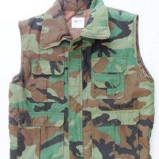 Militaria: CHALECO CAMO WOODLAND. Lote 174799440