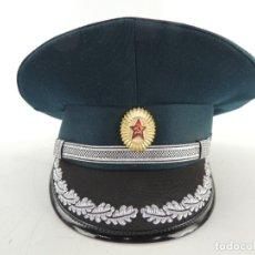 Militaria: ANTIGUO GORRO DE OFICIAL RUSO USSR AUTENTICO DE LA ERA COMUNISTA MUY BUEN ESTADO RARO. Lote 175159909