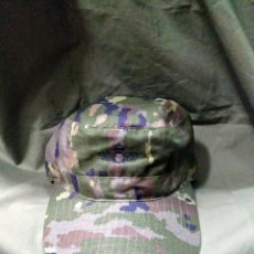 Militaria: GORRA PIXELADO BOSCOSO ORIGINAL E. DEL AIRE T-P NUEVA. Lote 175423559