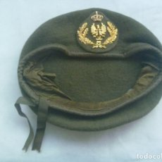 Militaria: BOINA DE OFICIAL DEL EJERCITO DE TIERRA . VERDE - KAQUI. Lote 175643075