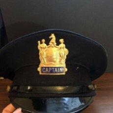 Militaria: USA - CAPITÁN POLICIA NEW JERSEY. Lote 175702265