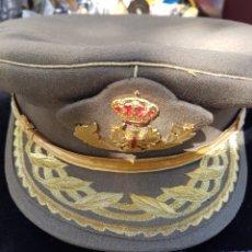 Militaria: BONITA GORRA DE GENERAL DEL EJERCITO EN HILO DE ORO. Lote 175968632