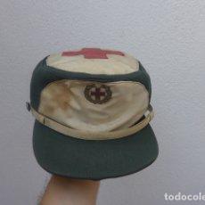 Militaria: * ANTIGUA GORRA DE LA CRUZ ROJA FRANQUISTA, ORIGINAL. ZX. Lote 176027145