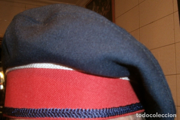 Militaria: gorra de plato mozo de escuadra de invierno - Foto 2 - 176217409