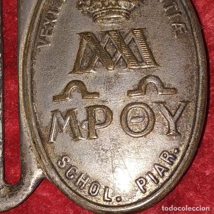 Militaria: 3 HEBILLAS. METAL PLATEADO. ESPAÑA (?). SIGLOS XIX-XX - Foto 7 - 176271919