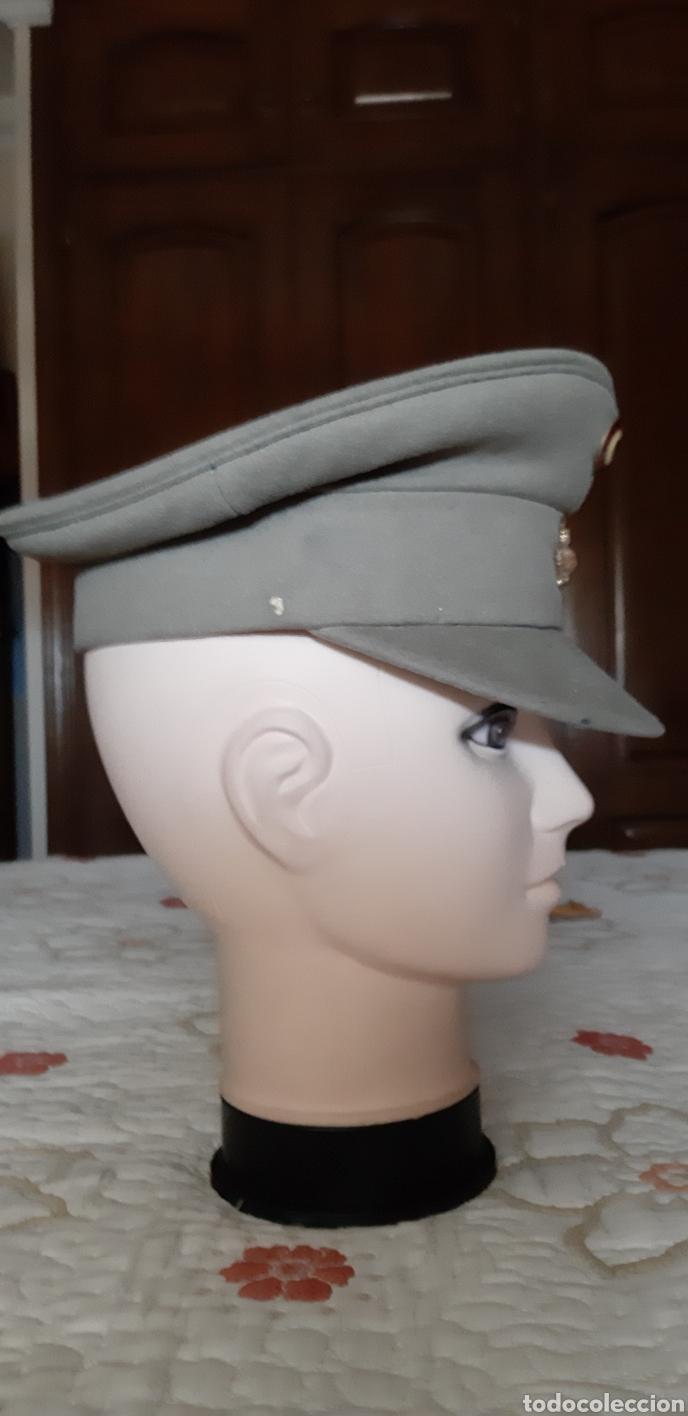 Militaria: Gorra militar a identificar - Foto 2 - 176278729