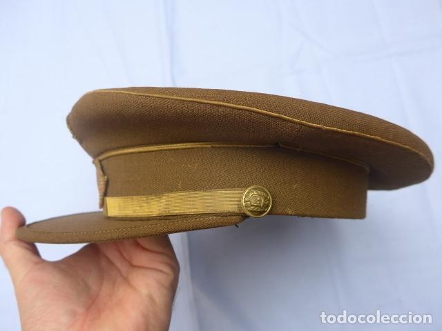 Militaria: * Antigua gorra de sargento franquista, epoca de Franco, original. ZX - Foto 2 - 194361940