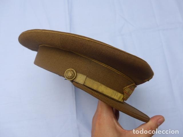 Militaria: * Antigua gorra de sargento franquista, epoca de Franco, original. ZX - Foto 5 - 194361940