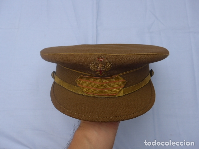 * ANTIGUA GORRA DE SARGENTO FRANQUISTA, EPOCA DE FRANCO, ORIGINAL. ZX (Militar - Boinas y Gorras )