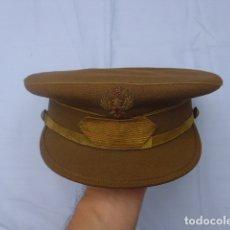 Militaria: * ANTIGUA GORRA DE SARGENTO FRANQUISTA, EPOCA DE FRANCO, ORIGINAL. ZX. Lote 194361940