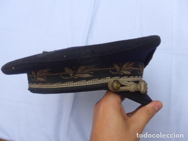 Militaria: * Antigua gorra de puertos canales y caminos franquista, epoca de Franco, original. ZX - Foto 6 - 176642708