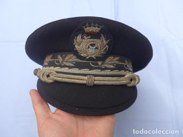 * ANTIGUA GORRA DE PUERTOS CANALES Y CAMINOS FRANQUISTA, EPOCA DE FRANCO, ORIGINAL. ZX (Militar - Boinas y Gorras )