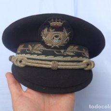 Militaria: * ANTIGUA GORRA DE PUERTOS CANALES Y CAMINOS FRANQUISTA, EPOCA DE FRANCO, ORIGINAL. ZX. Lote 176642708