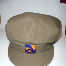 Militaria: MAGNIFICA ANTIGUA GORRA DE AUTOPISTAS DEL MEDITERRANEO SOBRE LOS AÑOS 60. Lote 177064565
