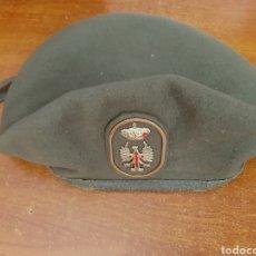 Militaria: BOINA DE TROPA EJERCITO DE TIERRA ESPAÑA 1.991 (TALLA 57). Lote 177403874