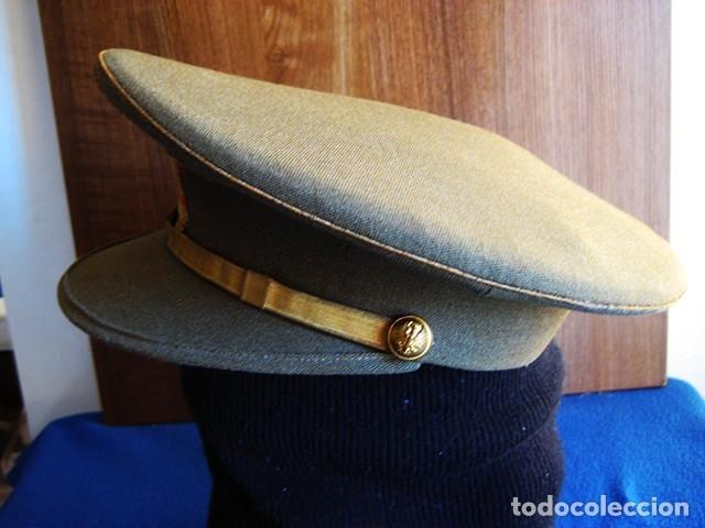 Militaria: Gorra militar de Sargento del Ejército de Tierra de la época de Franco. Excelente estado de conserv - Foto 5 - 177672867