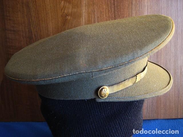 Militaria: Gorra militar de Sargento del Ejército de Tierra de la época de Franco. Excelente estado de conserv - Foto 7 - 177672867