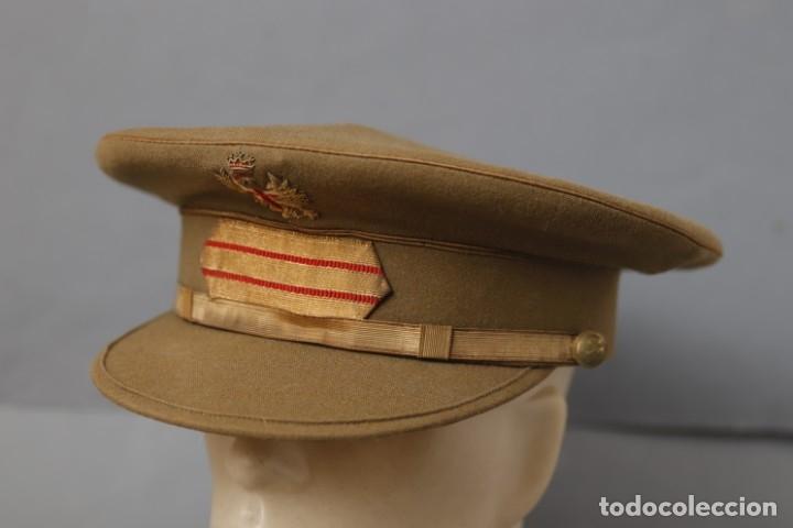 GORRA DE SARGENTO DEL EJÉRCITO DE TIERRA- RÉGIMEN ANTERIOR (Militar - Boinas y Gorras )