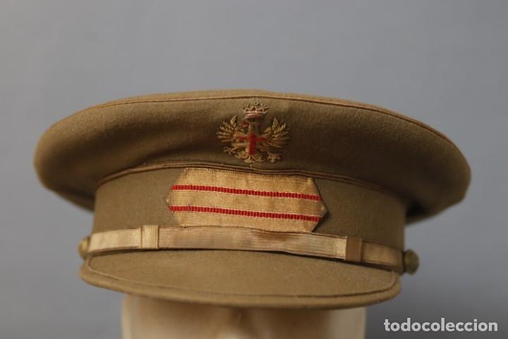 Militaria: GORRA DE SARGENTO DEL EJÉRCITO DE TIERRA- RÉGIMEN ANTERIOR - Foto 2 - 177716682