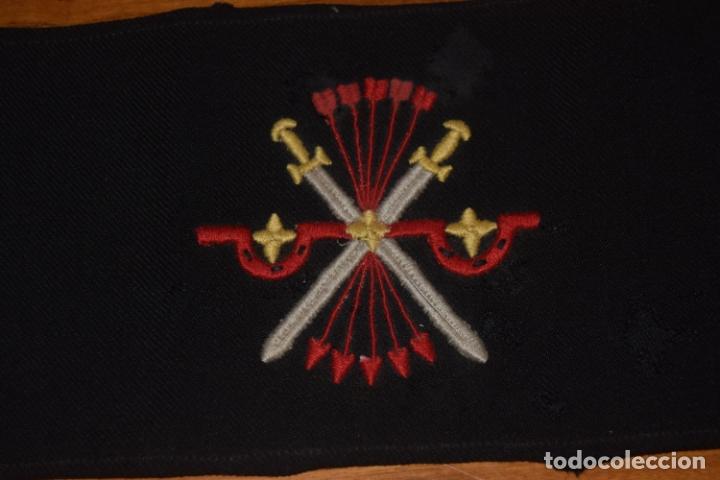 Militaria: brazalete franquista original - Foto 2 - 177836559
