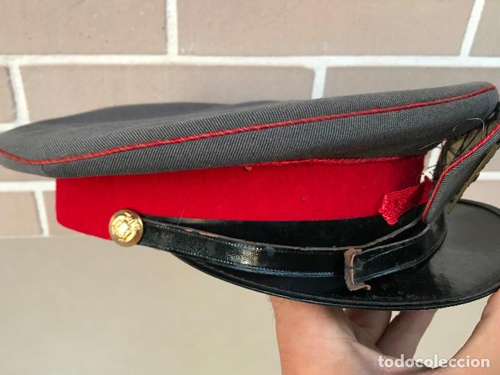 Militaria: Gorra de plato de policia armada - Foto 2 - 178245667