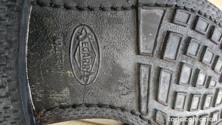 Militaria: Borceguies Segarra botas militares de media caña reglamentarias ejercito español talla 41 - Foto 3 - 178561852