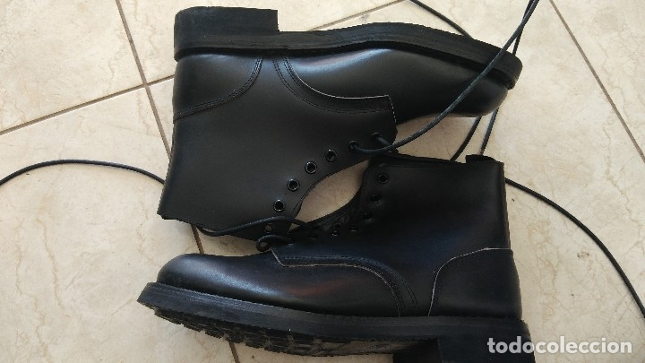 Militaria: Borceguies Segarra botas militares de media caña reglamentarias ejercito español talla 41 - Foto 7 - 178561852