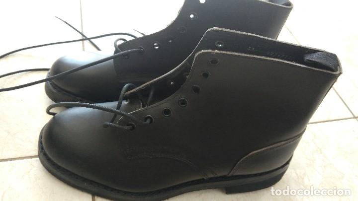Militaria: Borceguies Segarra botas militares de media caña reglamentarias ejercito español talla 41 - Foto 8 - 178561852