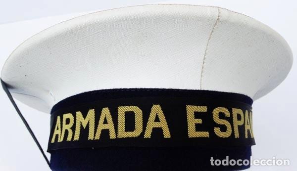 Militaria: ARMADA ESPAÑOLA: GORRA LEPANTO - Foto 3 - 178671470
