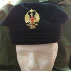 Militaria: BOINA LEPANTO DIVISIÓN ACORAZADA PRIMER MODELO JUAN CARLOS I HASTA AÑO 1981 T-59 NUEVA. Lote 244905060