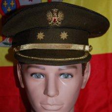 Militaria: GORRA PLATO TENIENTE CORONEL EJERCITO TIERRA EPOCA DE FRANCO. Lote 178729008