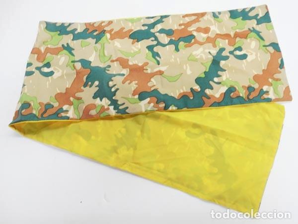 PAÑUELO CAMO BRIPAC,FONDO AMARILLO (Militar - Otros relacionados con uniformes )