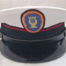 Militaria: GORRA PLATO MÚSICO DE LA ARMADA.. Lote 178883493
