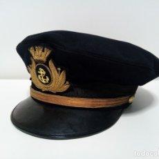 Militaria: GORRA DE PLATO DE LA MARINA ITALIANA (DANI LIVORNO - A. PRINETTI GENOVA). Lote 179082652