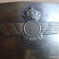 Militaria: HEBILLA AVIACIÓN. REY JUAN CARLOS I CERECEDA. Lote 179101050