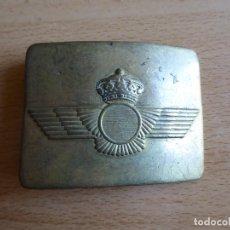 Militaria: HEBILLA EJÉRCITO DEL AIRE. REY JUAN CARLOS I CERECEDA. Lote 179101263