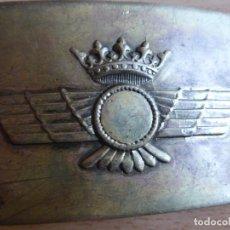Militaria: HEBILLA AVIACIÓN. 2º MODELO. Lote 179101607